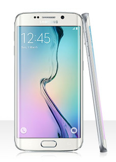 Samsung Galaxy S6 Edge - 32GB - Back